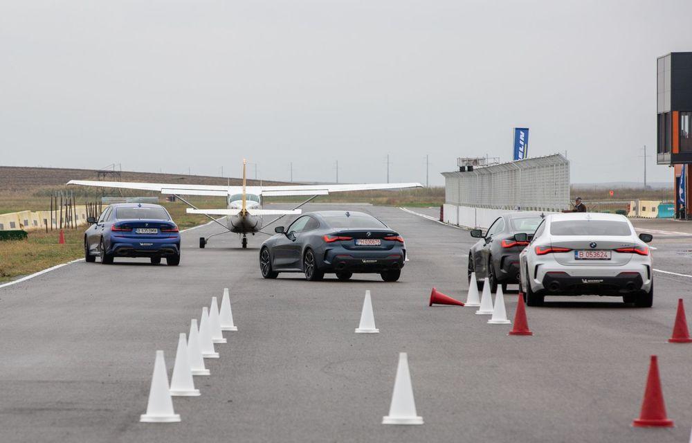În tandem pe circuit: prim contact cu BMW Seria 4 și zbor cu Cessna 172RG Cutlass RG - Poza 69