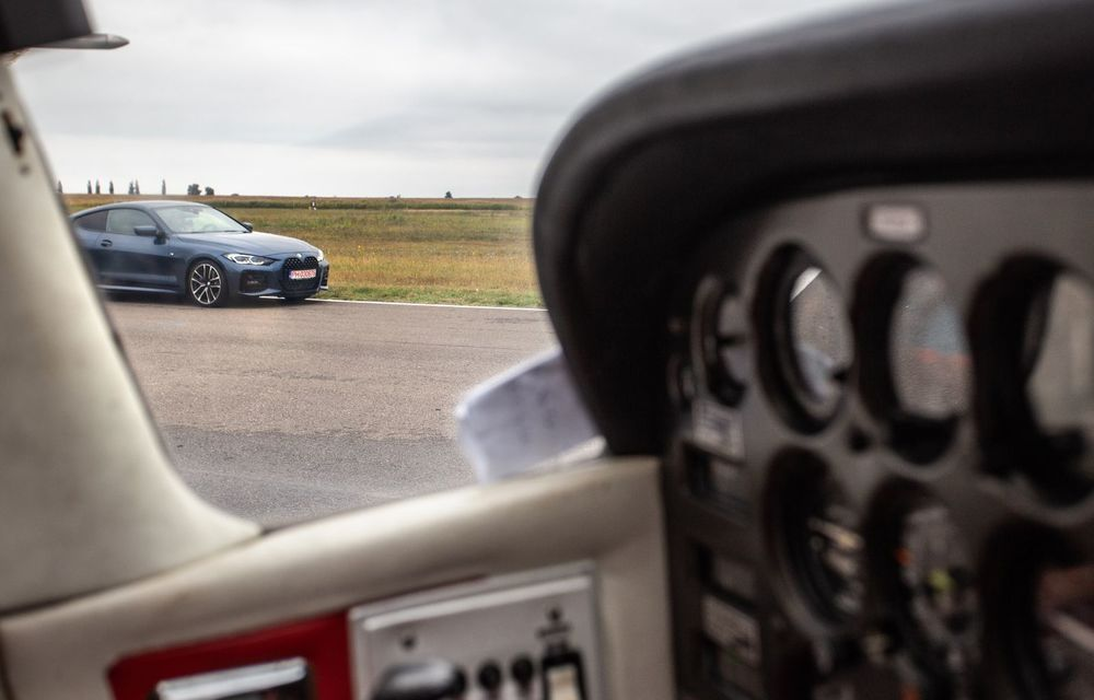 În tandem pe circuit: prim contact cu BMW Seria 4 și zbor cu Cessna 172RG Cutlass RG - Poza 73