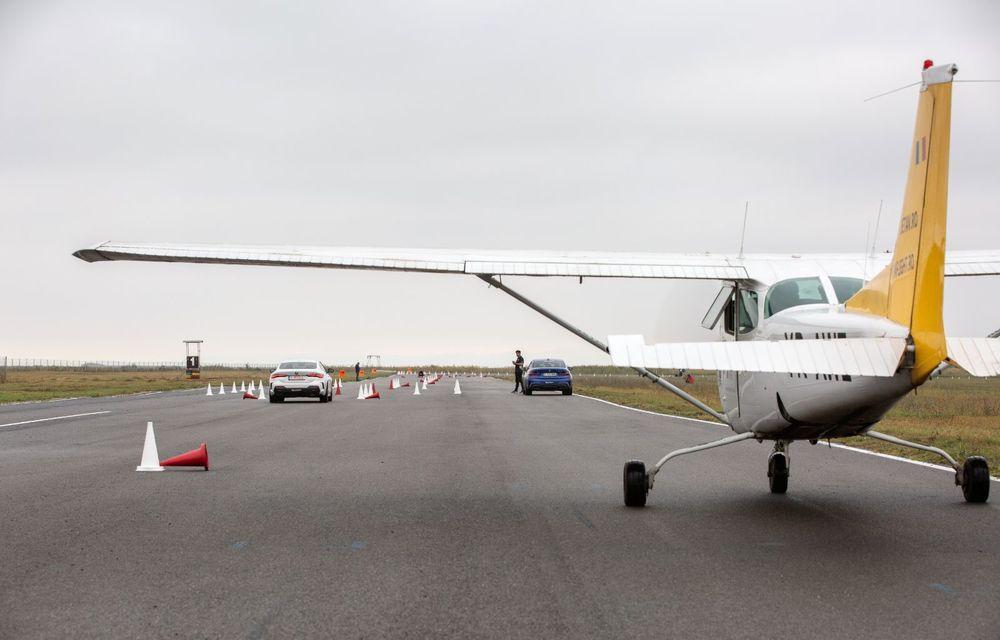 În tandem pe circuit: prim contact cu BMW Seria 4 și zbor cu Cessna 172RG Cutlass RG - Poza 72
