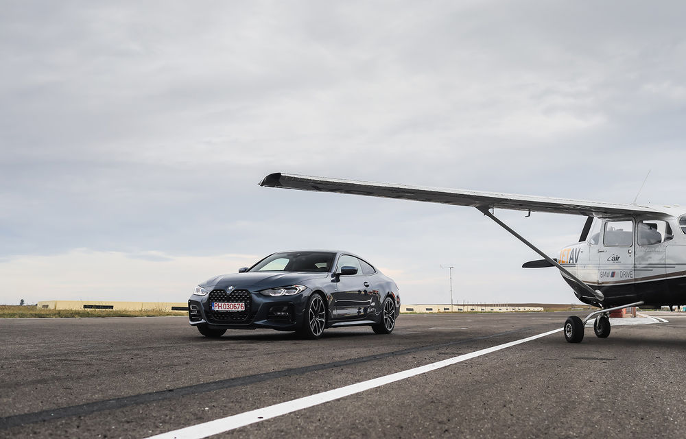 În tandem pe circuit: prim contact cu BMW Seria 4 și zbor cu Cessna 172RG Cutlass RG - Poza 1