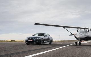 În tandem pe circuit: prim contact cu BMW Seria 4 și zbor cu Cessna 172RG Cutlass RG