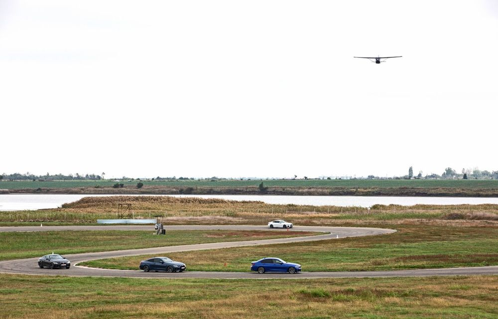 În tandem pe circuit: prim contact cu BMW Seria 4 și zbor cu Cessna 172RG Cutlass RG - Poza 76