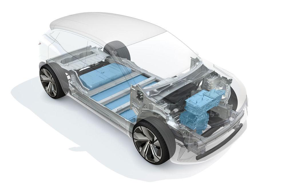 Asul din mâneca Renault: noua platformă CMF-EV poate duce autonomia electricelor la peste 600 de kilometri - Poza 1