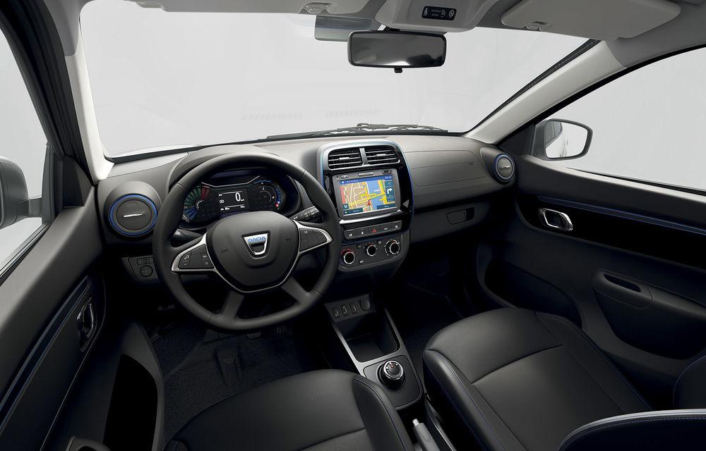 Dacia Spring: 8 lucruri neștiute despre primul model electric al mărcii de la Mioveni - Poza 6