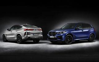 Versiuni First Edition pentru BMW X5 M Competition și X6 M Competition: 250 de unități pentru fiecare model și accesorii speciale de interior și exterior