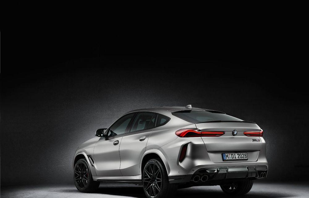 Versiuni First Edition pentru BMW X5 M Competition și X6 M Competition: 250 de unități pentru fiecare model și accesorii speciale de interior și exterior - Poza 9