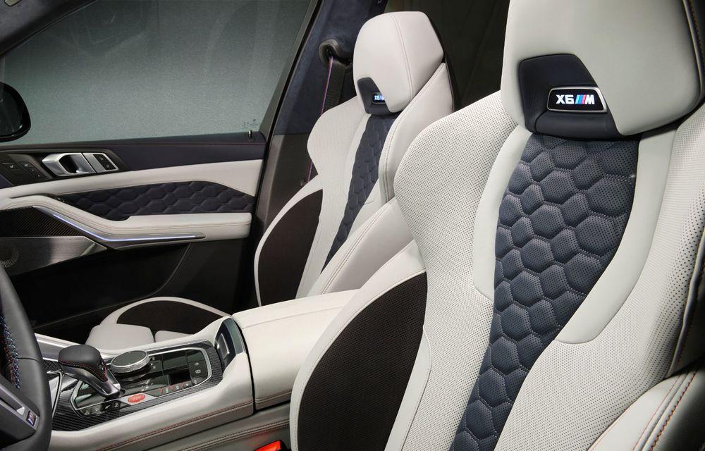 Versiuni First Edition pentru BMW X5 M Competition și X6 M Competition: 250 de unități pentru fiecare model și accesorii speciale de interior și exterior - Poza 10