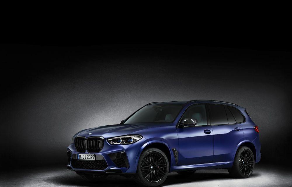 Versiuni First Edition pentru BMW X5 M Competition și X6 M Competition: 250 de unități pentru fiecare model și accesorii speciale de interior și exterior - Poza 2