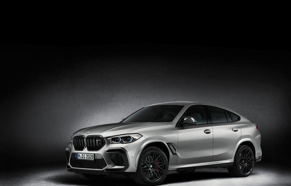 Versiuni First Edition pentru BMW X5 M Competition și X6 M Competition: 250 de unități pentru fiecare model și accesorii speciale de interior și exterior - Poza 8