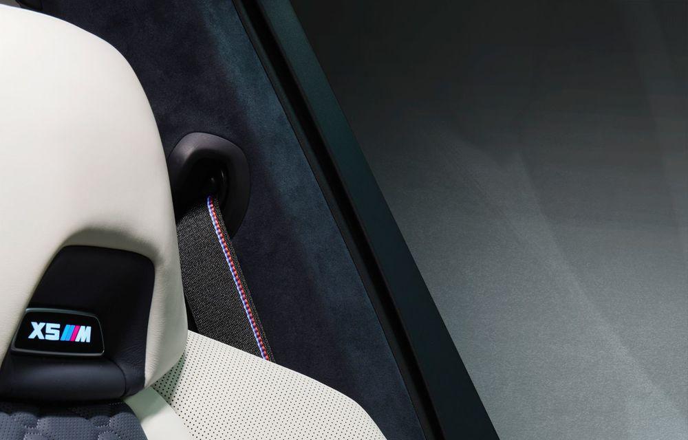 Versiuni First Edition pentru BMW X5 M Competition și X6 M Competition: 250 de unități pentru fiecare model și accesorii speciale de interior și exterior - Poza 6