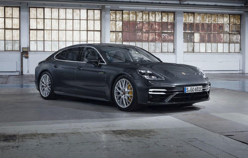Porsche Panamera facelift primește o nouă versiune de top: Turbo S E-Hybrid are sistem plug-in hybrid de 700 de cai putere - Poza 1