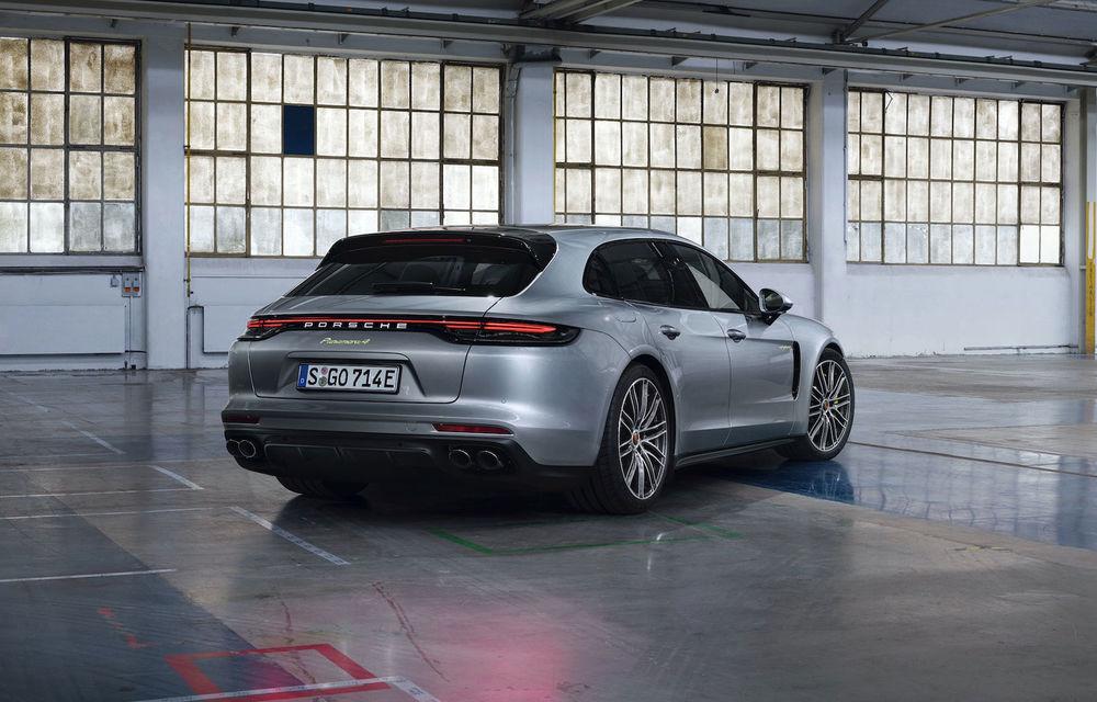 Porsche Panamera facelift primește o nouă versiune de top: Turbo S E-Hybrid are sistem plug-in hybrid de 700 de cai putere - Poza 8