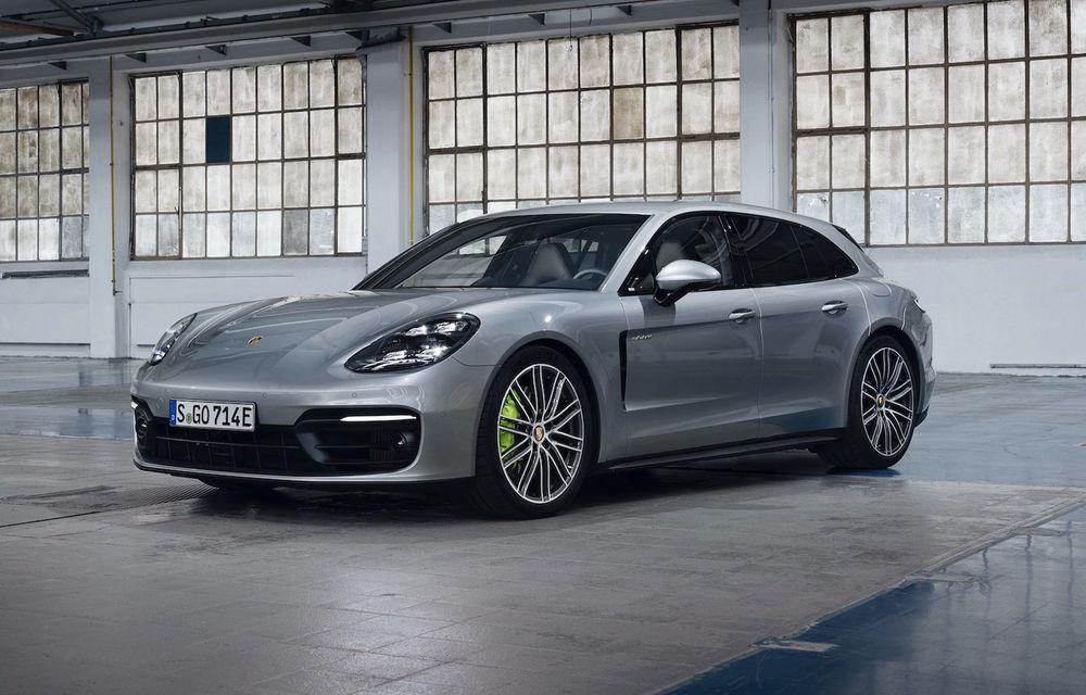 Porsche Panamera facelift primește o nouă versiune de top: Turbo S E-Hybrid are sistem plug-in hybrid de 700 de cai putere - Poza 6