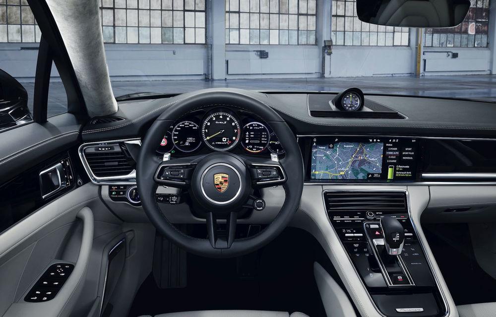 Porsche Panamera facelift primește o nouă versiune de top: Turbo S E-Hybrid are sistem plug-in hybrid de 700 de cai putere - Poza 11