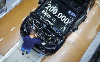 BMW i3 a atins o producție de 200.000 de exemplare: modelul electric a intrat pe liniile de asamblare în 2013