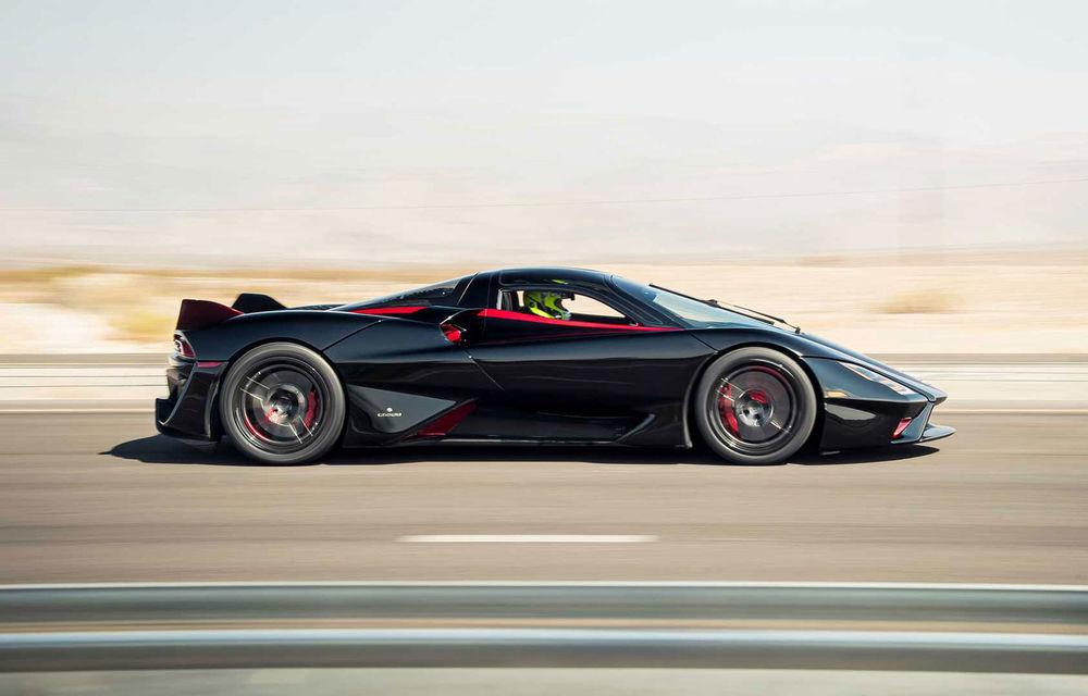 SSC Tuatara a devenit cea mai rapidă mașină de serie din lume: media vitezelor de top a fost de 508.73 km/h - Poza 1