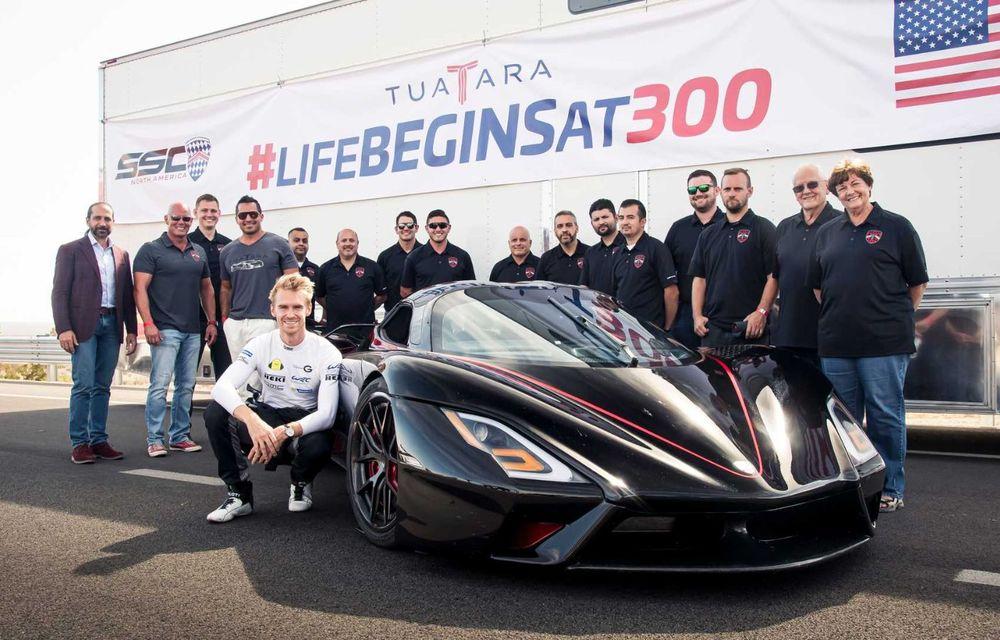 SSC Tuatara a devenit cea mai rapidă mașină de serie din lume: media vitezelor de top a fost de 508.73 km/h - Poza 5