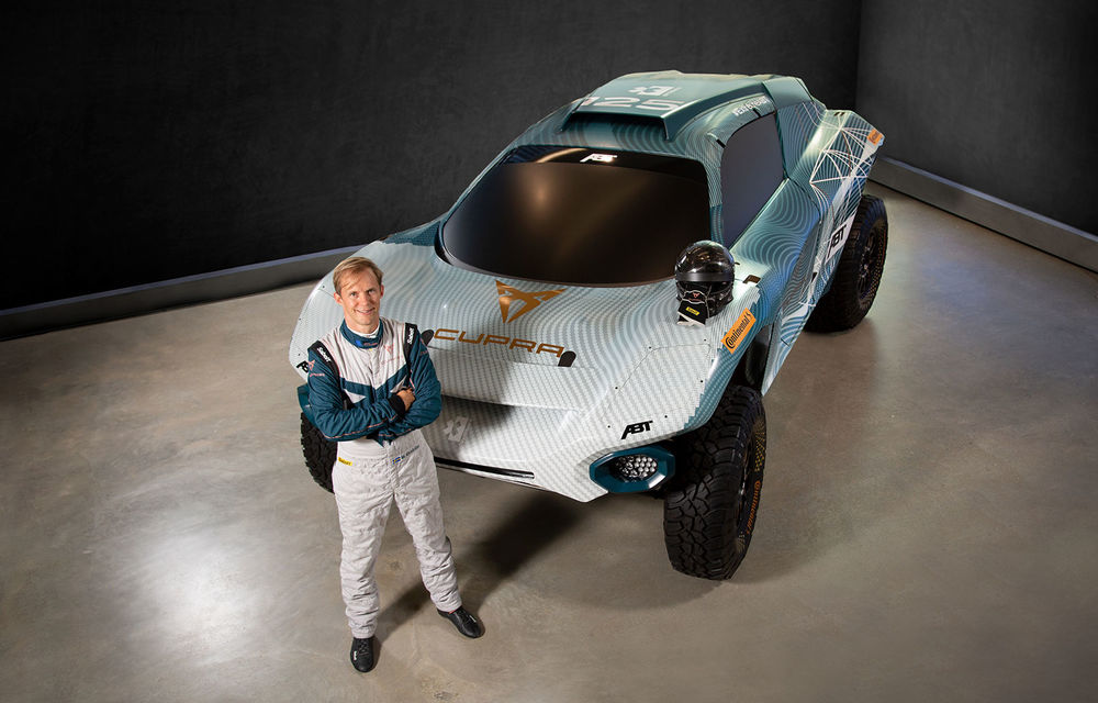 Cupra devine partenerul ABT în noua serie Extreme E: competiția de rally-raid cu mașini electrice debutează în 2021 - Poza 1