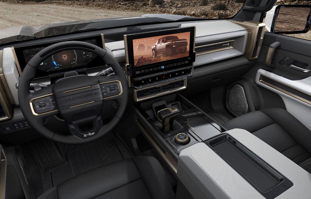 General Motors a prezentat Hummer EV: pick-up-ul electric are 1.000 de cai putere, autonomie de peste 560 de kilometri și încărcare cu 300 kW - Poza 7