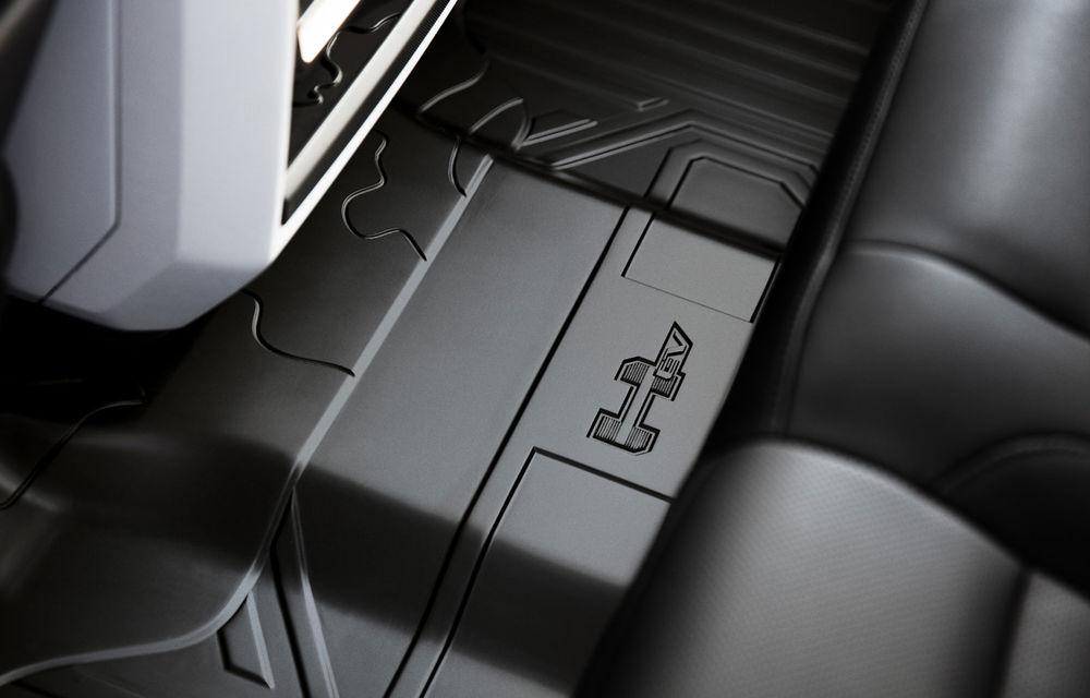 General Motors a prezentat Hummer EV: pick-up-ul electric are 1.000 de cai putere, autonomie de peste 560 de kilometri și încărcare cu 300 kW - Poza 9