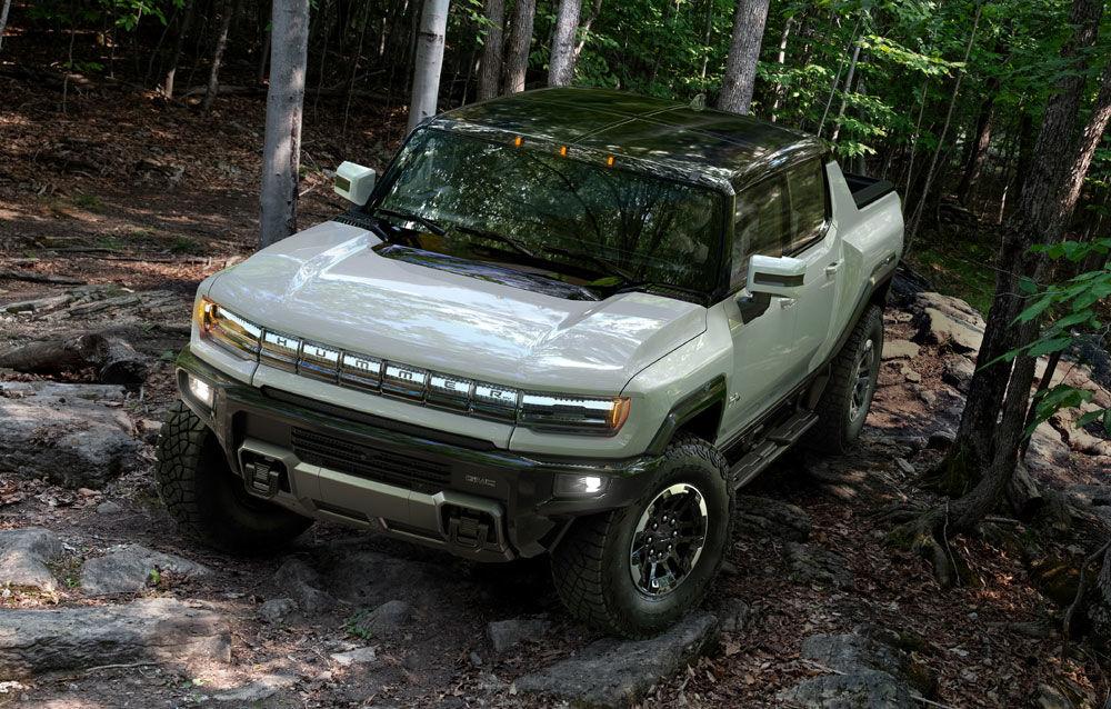 General Motors a prezentat Hummer EV: pick-up-ul electric are 1.000 de cai putere, autonomie de peste 560 de kilometri și încărcare cu 300 kW - Poza 2