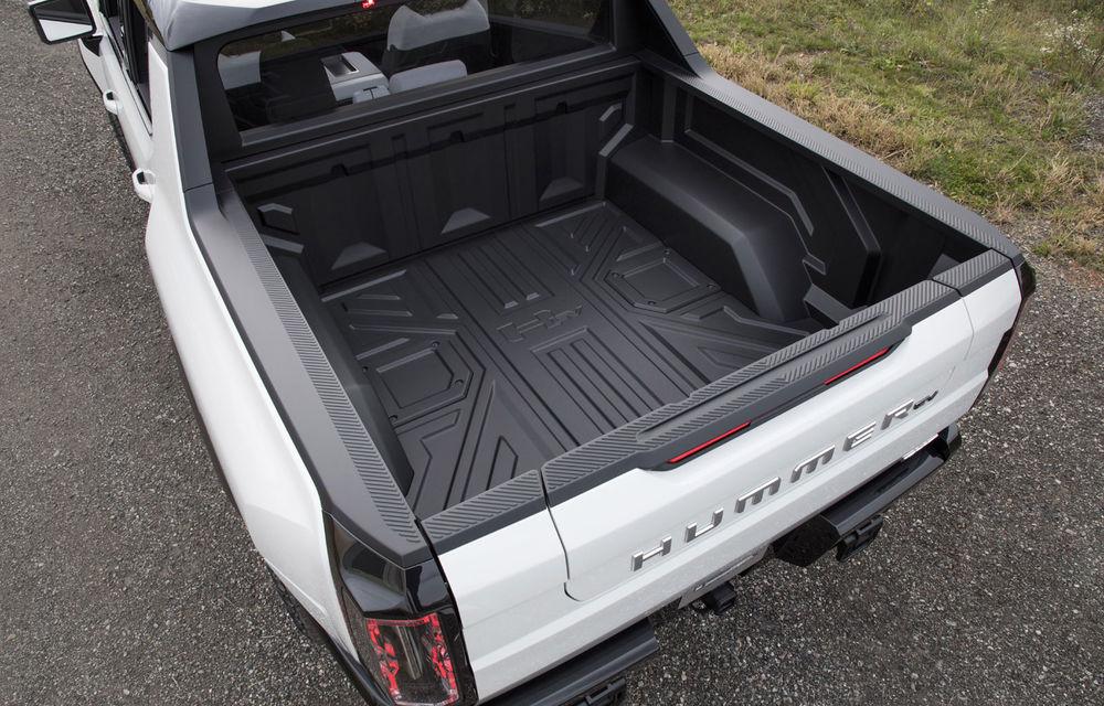 General Motors a prezentat Hummer EV: pick-up-ul electric are 1.000 de cai putere, autonomie de peste 560 de kilometri și încărcare cu 300 kW - Poza 5