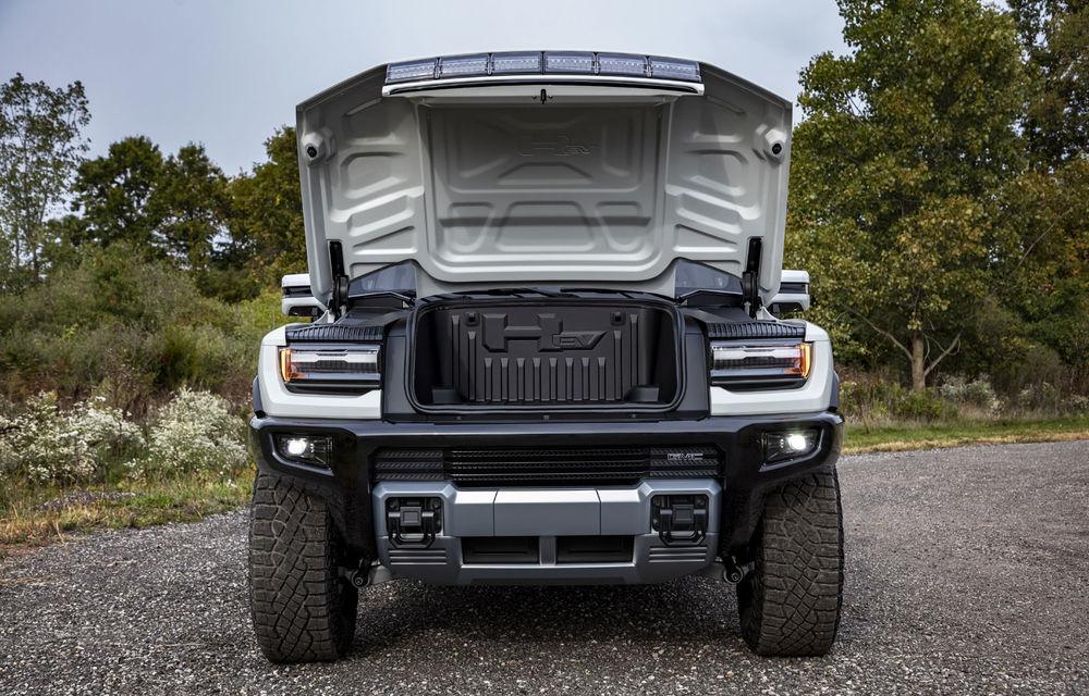 General Motors a prezentat Hummer EV: pick-up-ul electric are 1.000 de cai putere, autonomie de peste 560 de kilometri și încărcare cu 300 kW - Poza 6