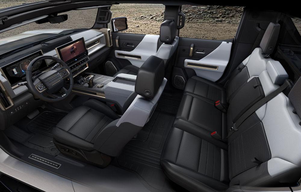General Motors a prezentat Hummer EV: pick-up-ul electric are 1.000 de cai putere, autonomie de peste 560 de kilometri și încărcare cu 300 kW - Poza 8