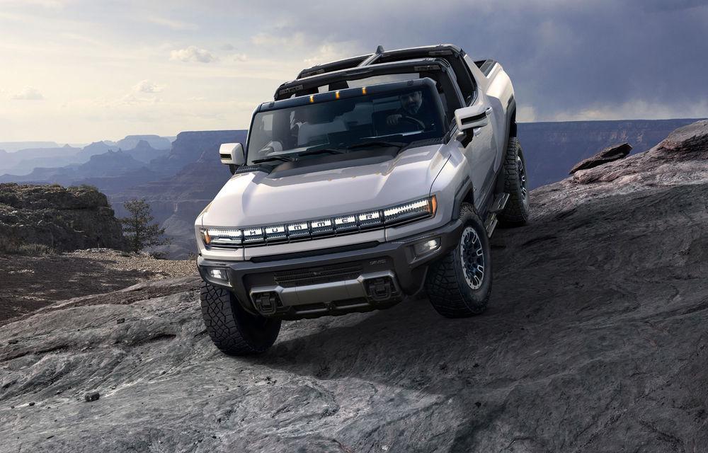 General Motors a prezentat Hummer EV: pick-up-ul electric are 1.000 de cai putere, autonomie de peste 560 de kilometri și încărcare cu 300 kW - Poza 1