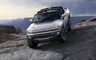 General Motors a prezentat Hummer EV: pick-up-ul electric are 1.000 de cai putere, autonomie de peste 560 de kilometri și încărcare cu 300 kW