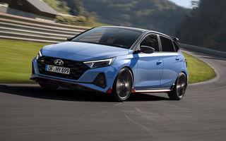 Hyundai a prezentat noul i20 N: Hot-Hatch-ul de clasă mică dezvoltă 204 CP și beneficiază și de un sistem Launch Control