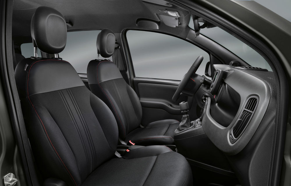 Îmbunătățiri pentru Fiat Panda: versiune Sport, ecran touch de 7 inch și motorizare mild-hybrid de 70 CP pentru întreaga gamă - Poza 14