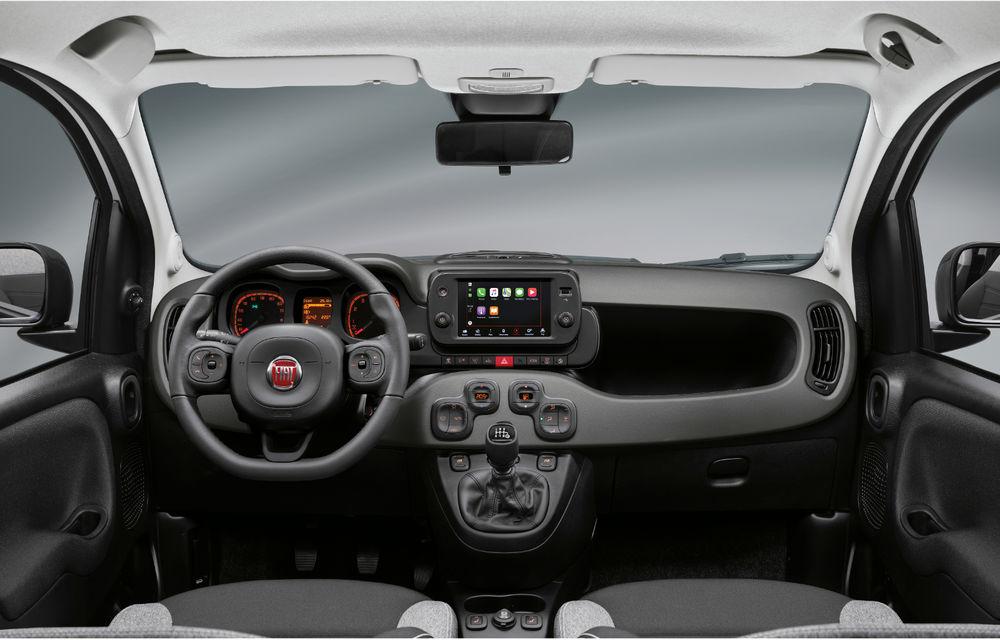 Îmbunătățiri pentru Fiat Panda: versiune Sport, ecran touch de 7 inch și motorizare mild-hybrid de 70 CP pentru întreaga gamă - Poza 18