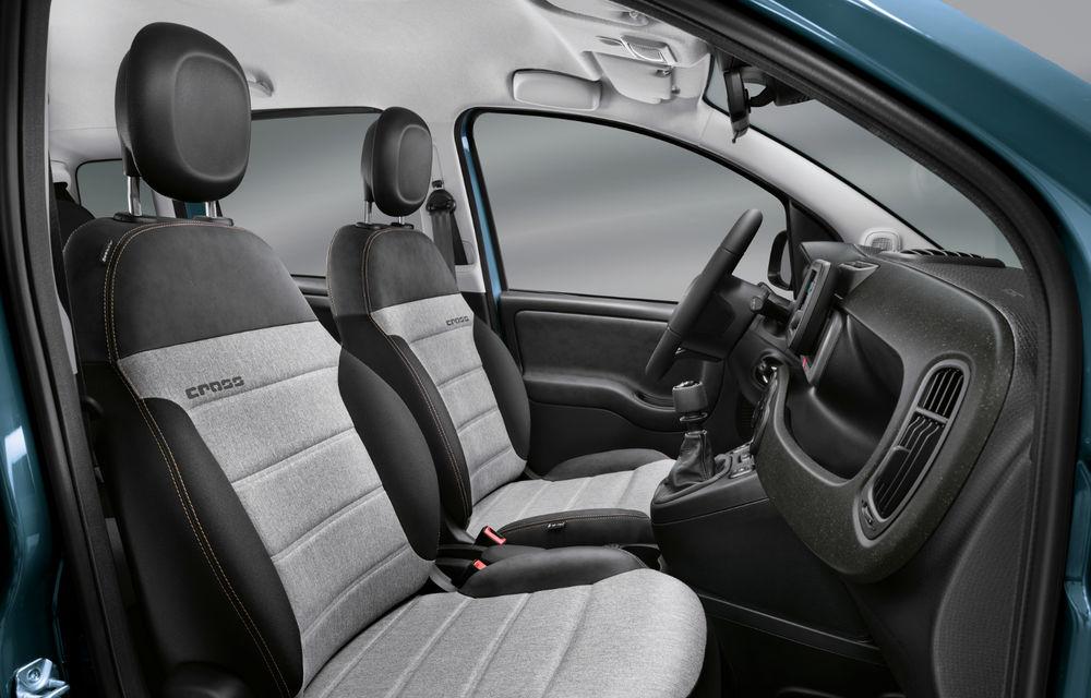 Îmbunătățiri pentru Fiat Panda: versiune Sport, ecran touch de 7 inch și motorizare mild-hybrid de 70 CP pentru întreaga gamă - Poza 17