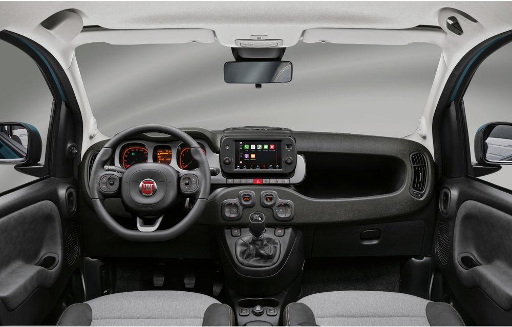 Îmbunătățiri pentru Fiat Panda: versiune Sport, ecran touch de 7 inch și motorizare mild-hybrid de 70 CP pentru întreaga gamă - Poza 16