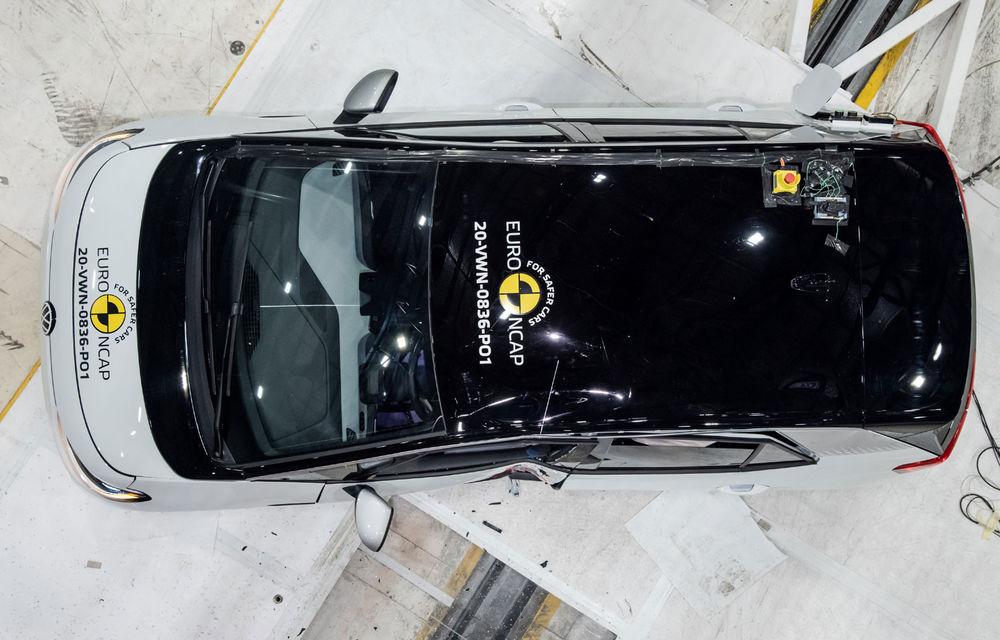 """Volkswagen ID.3 a obținut 5 stele la testele Euro NCAP: """"Hatchback-ul electric nu face compromisuri la siguranță"""" - Poza 9"""