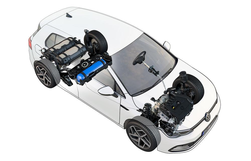 Versiune cu gaz natural comprimat pentru actuala generație Volkswagen Golf: motor de 1.5 litri cu 130 CP - Poza 2