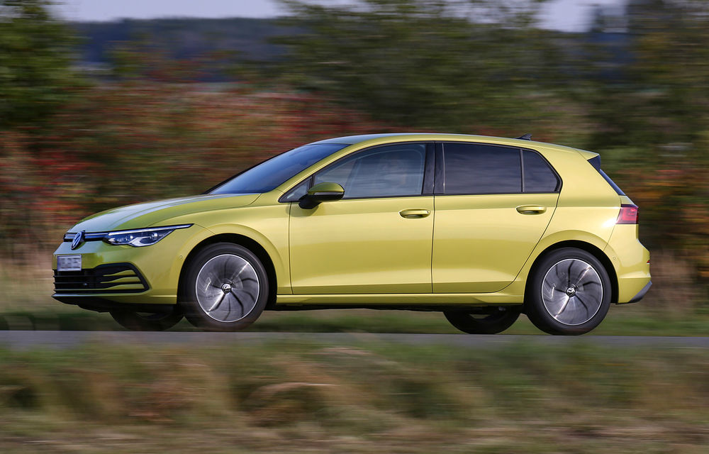 Versiune cu gaz natural comprimat pentru actuala generație Volkswagen Golf: motor de 1.5 litri cu 130 CP - Poza 1
