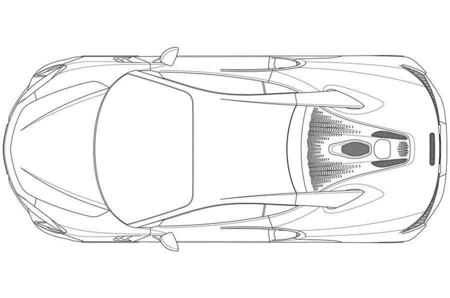 Primele schițe cu noul supercar hibrid de la McLaren: modelul va fi prezentat în 2021 - Poza 4