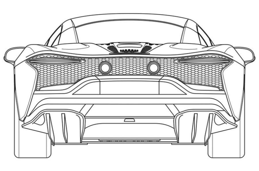 Primele schițe cu noul supercar hibrid de la McLaren: modelul va fi prezentat în 2021 - Poza 5