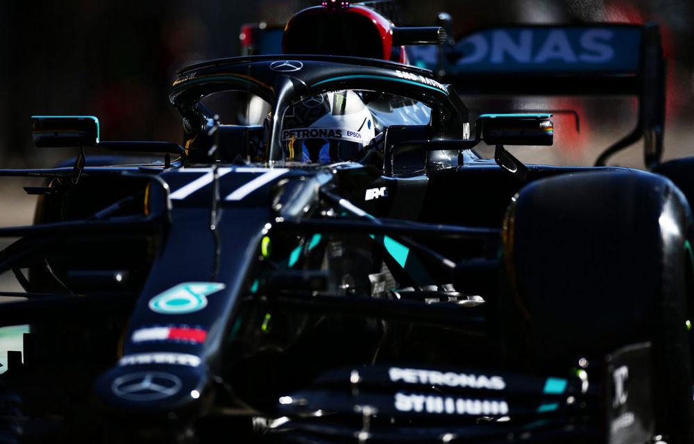 Bottas, cel mai rapid în antrenamentele de vineri din Portugalia: coliziune între Verstappen și Stroll în a doua sesiune - Poza 1