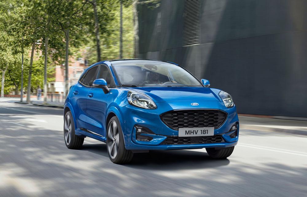 Ford Puma, al treilea cel mai vândut model Ford în Europa: peste 42.000 de unități în perioada iulie-septembrie - Poza 1