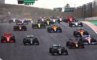 Hamilton a câștigat cursa din Portugalia și a depășit recordul de victorii al lui Schumacher: Bottas și Verstappen au completat podiumul