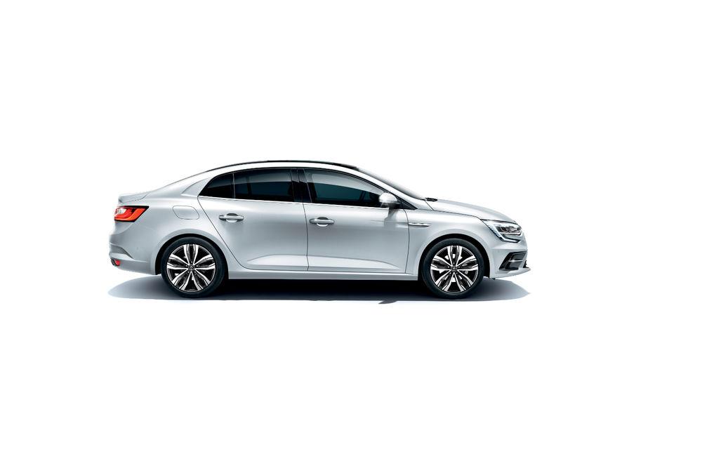 Imagini și informații tehnice cu Renault Megane Sedan facelift: interior îmbunătățit, motorizări diesel și pe benzină și sisteme de asistență - Poza 8