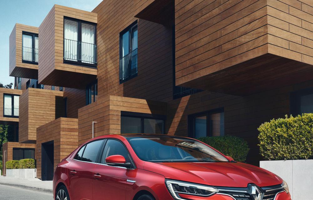 Imagini și informații tehnice cu Renault Megane Sedan facelift: interior îmbunătățit, motorizări diesel și pe benzină și sisteme de asistență - Poza 25