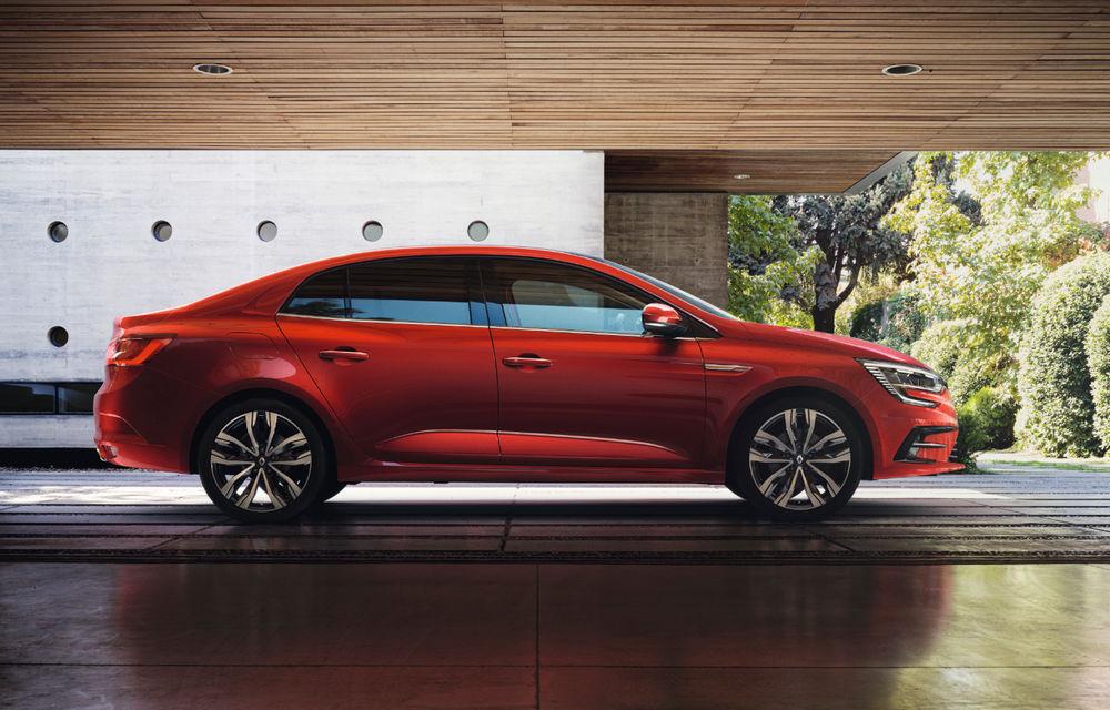 Imagini și informații tehnice cu Renault Megane Sedan facelift: interior îmbunătățit, motorizări diesel și pe benzină și sisteme de asistență - Poza 3