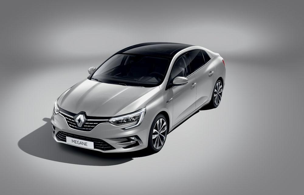 Imagini și informații tehnice cu Renault Megane Sedan facelift: interior îmbunătățit, motorizări diesel și pe benzină și sisteme de asistență - Poza 17