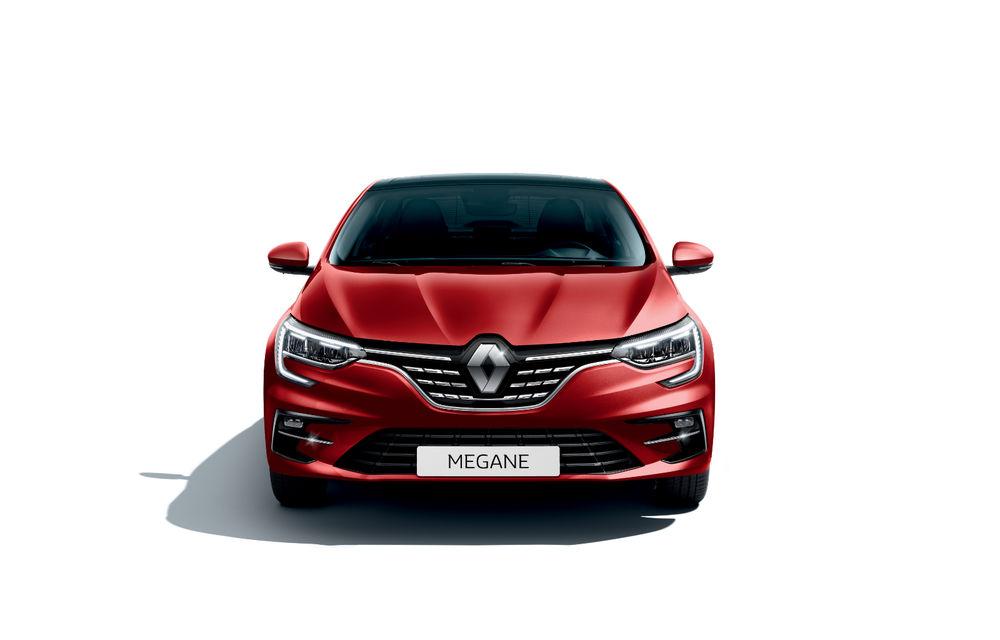 Imagini și informații tehnice cu Renault Megane Sedan facelift: interior îmbunătățit, motorizări diesel și pe benzină și sisteme de asistență - Poza 11