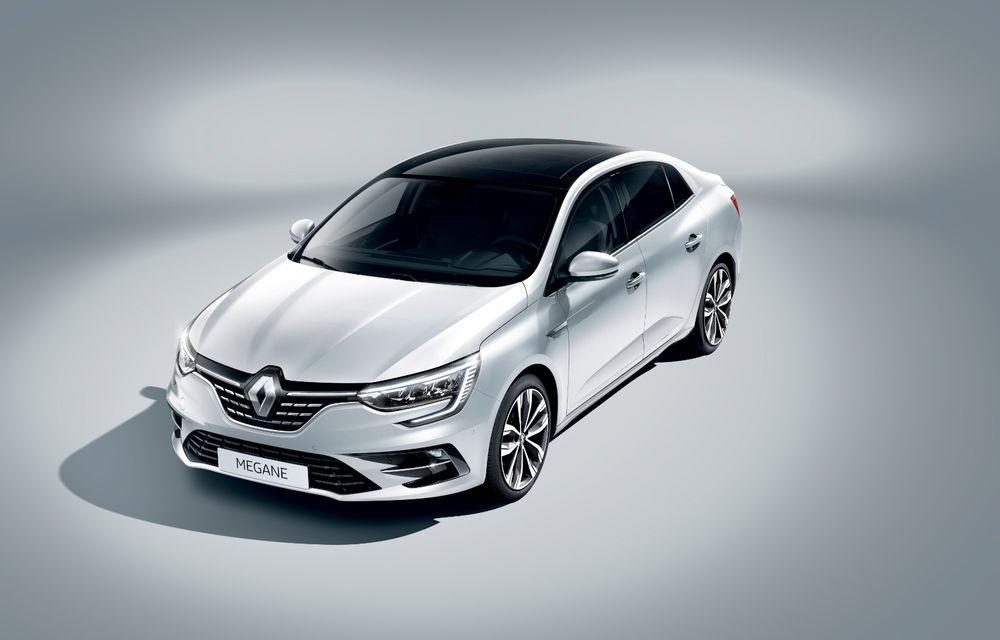 Imagini și informații tehnice cu Renault Megane Sedan facelift: interior îmbunătățit, motorizări diesel și pe benzină și sisteme de asistență - Poza 16