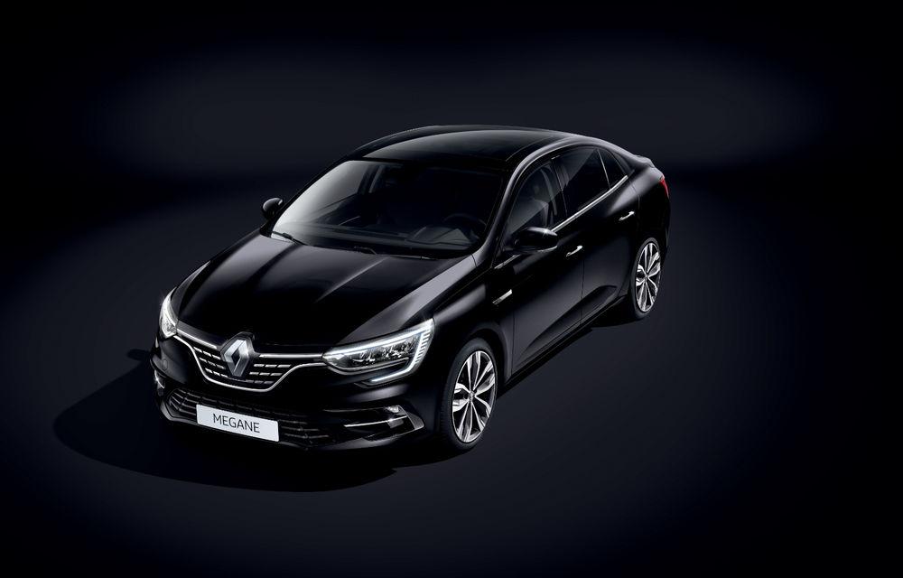 Imagini și informații tehnice cu Renault Megane Sedan facelift: interior îmbunătățit, motorizări diesel și pe benzină și sisteme de asistență - Poza 19